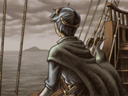 Marth looking from ship