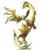 Divine dragon illustration