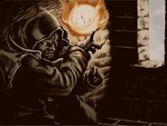 Gharnef casting a spell