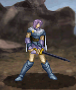 Estelle battle (dismounted Paladin)