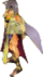 FE10 Nailah Wolf Queen (Untransformed) Sprite