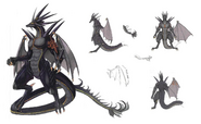 Black Dragon concept