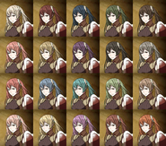 Severa avatar hair