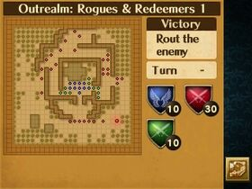 Rougues & Redeemers 1 Map