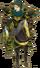 FE10 Renning Gold Knight Sprite