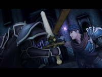 Ike vs. Black Knight
