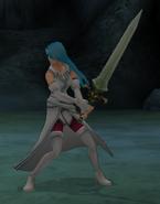 FE10 Swordmaster (Lucia) -Pre-haircut-