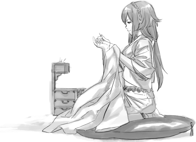 File:Oboro Sketch Stitchingclothes .png