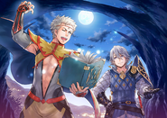 Odin and Laslow Art