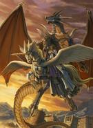 Kurthnaga and Elincia halt the battle