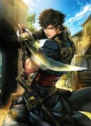Lon'qu Fire Emblem Cipher