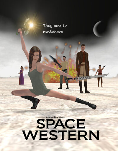 Poster-Space Western