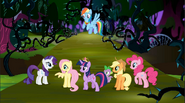 Mane 6 in Everfree Forest S4 E1