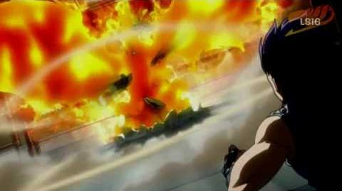 Fairy Tail Natsu vs Gazille Gajeel