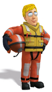 Ben in coastguard uniform