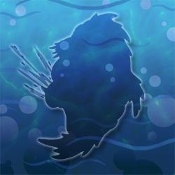 Blue gill hidden