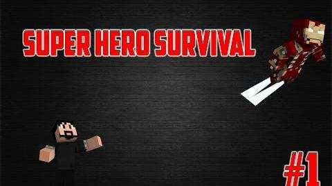 Minecraft Super Hero Survival Episode 1 POWERLESS!!!!