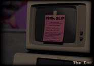 Pink slip a