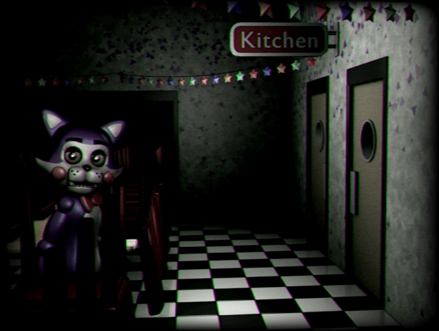 File:Cindy in the main party room closed FNAC.png