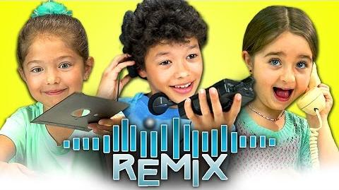 REACT REMIX - Old Computers, Walkmans, Rotary Phones-0