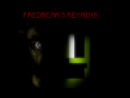 Five Nights at Fredbear's Remains