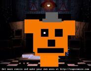 Mini FNAF2 Freddy Death
