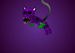 Withered Bungale fanart (1)