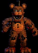 W Freddy render full body