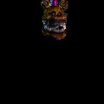 Nightmare fredbears head (2)