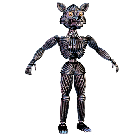 File:Funtime Foxy endoskeleton.png