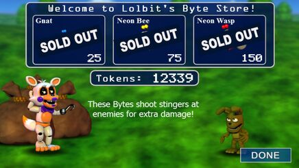 Lolbit's Store in Overworld -Ihaveallitems;) -