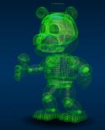 Virtual Freddy Personaje