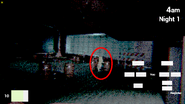The register with spongebob (brightended and circled)