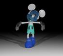 Photo Negative Mickey