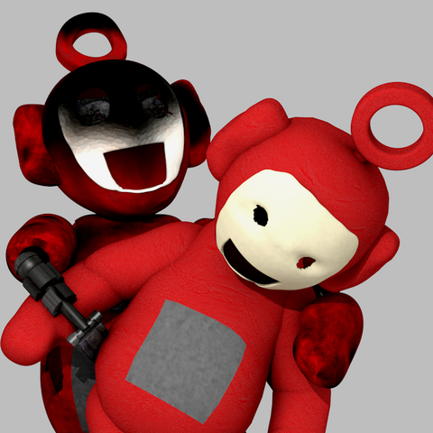 Po and her beta version in an image from Critolious's DeviantArt.