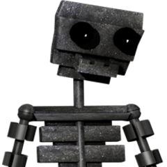 Full body image of the endoskeleton for the characters in the game, from Critolious's DeviantArt.