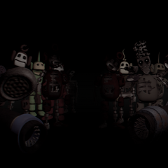 Textless image of most tubbybots in one image from Critolious's DeviantArt. Strangely, the FNaTL 1 tubbybots (including the ones from the demo) are gone, and the rest of the characters now have black eyes with white pupils.