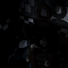 An image of Po in the FNaF restaurant, more specifically the East Hall Corner, from Critolious's DeviantArt.