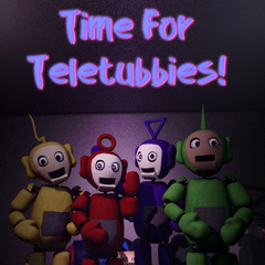 An image of the new repaired tubbybots in the poster found around the restaurant.