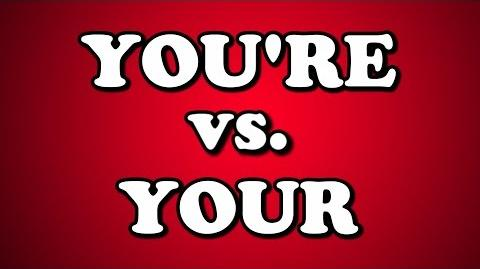 YOU'RE vs. YOUR-1