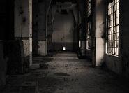 Old warehouse hallway by joshua angel-d34e4ck