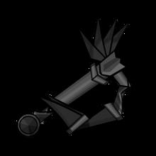 Iron Curved Sword Hilt