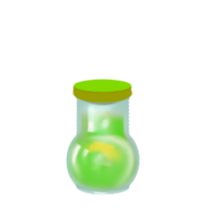 Green food dye