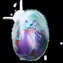 Crystal unicorn egg