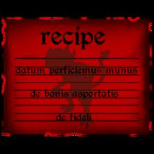 Evil chocolate teddy recipe
