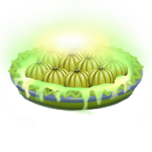 Radioactive pumpkin pie