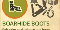 Boar Hide Boots