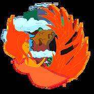 Flame princess firefox icon