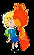 Circlebox finn-and-flame-princess-fanart