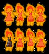 Flame princess s designs for vault of bones by stickmanda-d5wq0t2